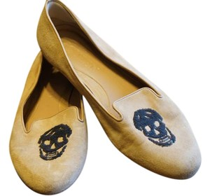 Alexander McQueen Mc Queen Loafer Beige Flats