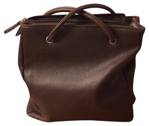 Croft & Barrow Brown Messenger Bag