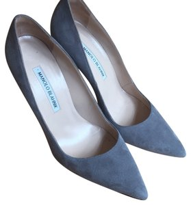 Manolo Blahnik Gray Pumps