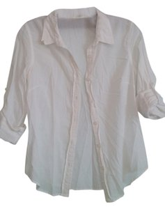 Hei Hei Button Down Shirt white