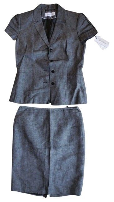 Item - Gray New Skirt Suit Size 6 (S)