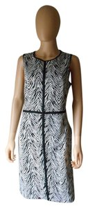 Ann Taylor LOFT Tiger Print Sheath Dress