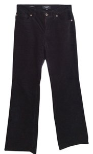 Talbots Straight Pants black velvet