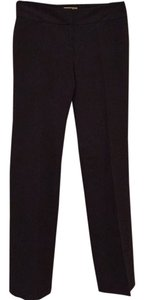 Halogen Straight Leg Straight Pants Dark gray
