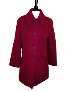 East 5th Essentials Red Size M Pea Coat