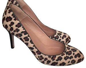Ann Taylor Tan, brown and black Pumps