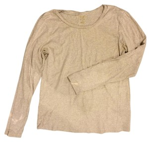 Sonoma Long Sleeve Plus T Shirt Light Beige