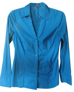 Express Classic Professional Button Down Shirt Teal