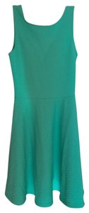 H&M short dress Blue, green on Tradesy