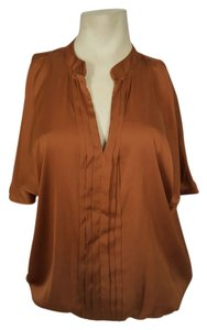 New York & Company Top Rust