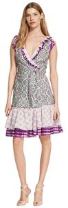 Diane von Furstenberg short dress Dvf Wrap New on Tradesy