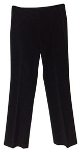 Banana Republic Velveteen Holiday Party Straight Pants Black