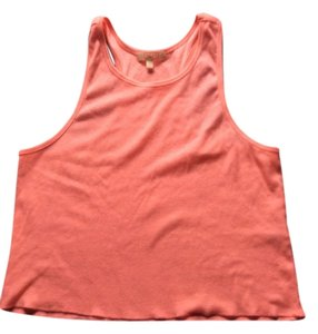 Charlotte Russe Pink Knit Top neon coral