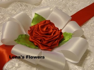 Handmade Wedding Sash Belt Just For Your Special Occasion.