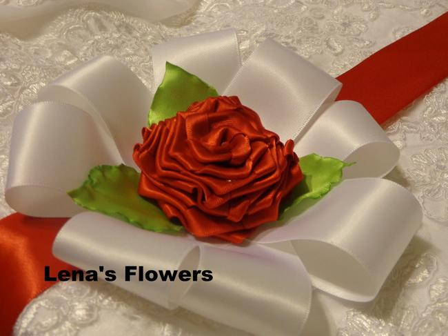 White Red and Green Handmade Belt Just For Your Special Occasion. Sash White Red and Green Handmade Belt Just For Your Special Occasion. Sash Image 1