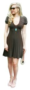 BCBGMAXAZRIA short dress Brown Bcbg Sweater Cute on Tradesy