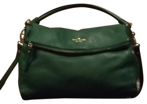 Kate Spade Satchel in Forest green