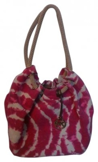 Preload https://item4.tradesy.com/images/michael-michael-kors-red-brasil-tie-dye-marina-tote-pinkfuschia-and-cream-canvas-shoulder-bag-140778-0-0.jpg?width=440&height=440