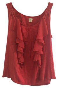 Tiny Anthropologie Top Pink/Red