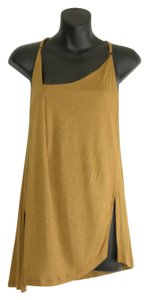 BCBGMAXAZRIA Top green/gold