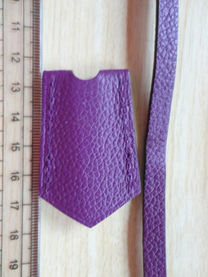 Louis Vuitton Empreinte clochette purple KROKO NEU for LV Image 3