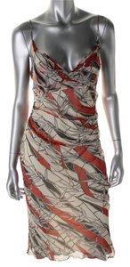 Catherine Malandrino short dress red multi on Tradesy