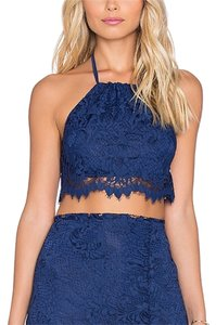 For Love & Lemons Top Blue