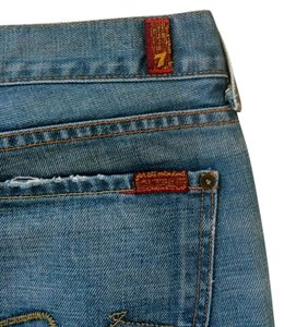 Seven Jeans Boot Cut Jeans-Medium Wash