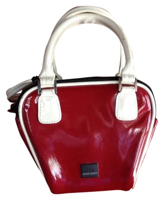 Item - Camera Bag Retro Rockabilly Bowling Red Patent Leather Tote