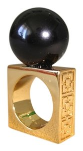 Trina Turk giant ball square ring