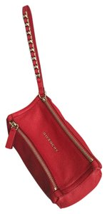 Givenchy Wristlet in Dark red