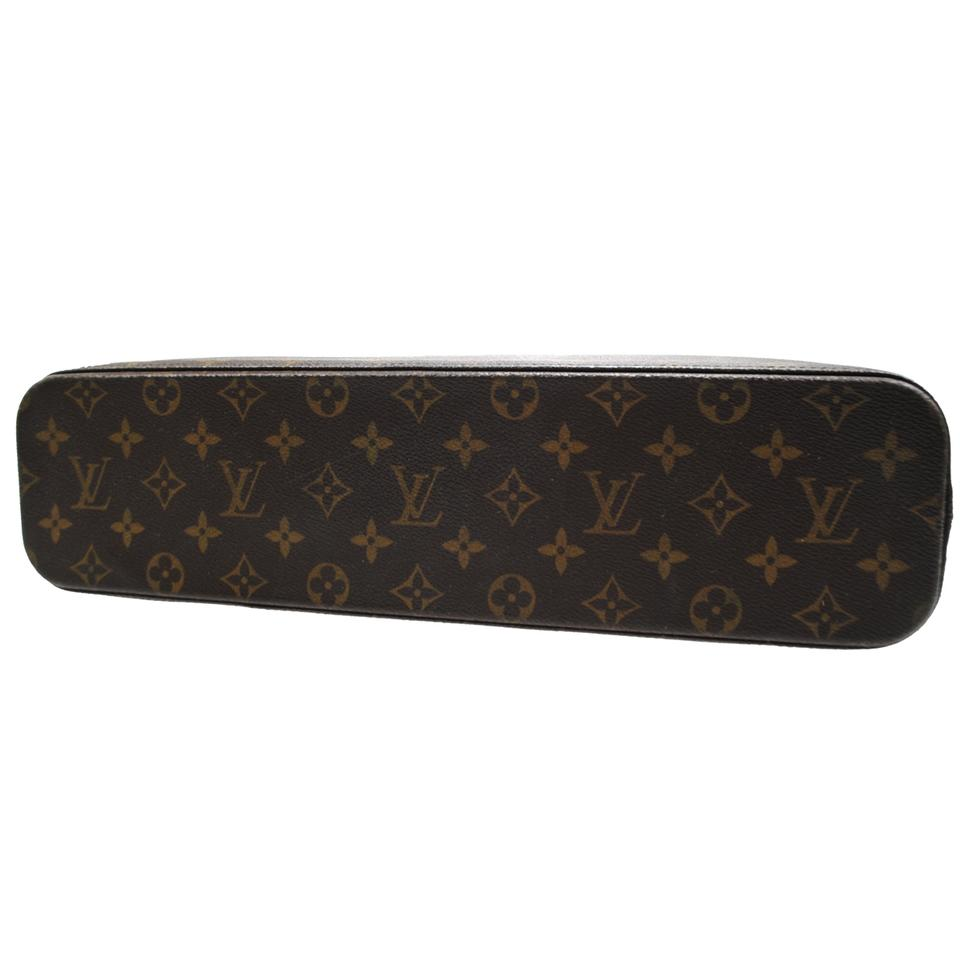 Louis vuitton luco tote canvas brown monogram leather for Louis vuitton miroir bags