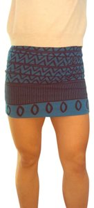 Urban Outfitters Mini Skirt Blue