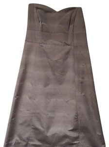 Moulinette Soeurs short dress Light Grey Strapless Buttons Summer Party on Tradesy