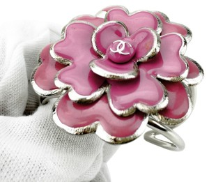 Chanel Chanel Camellia Pink Flower Cuff