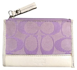 Coach Coach lavender coin purse
