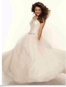 Mori Lee 95102 Sleeveless Ballgown Wedding Dress