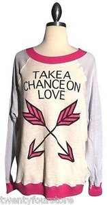 Wildfox Couture Take A Chance Kims Sweater Sweatshirt