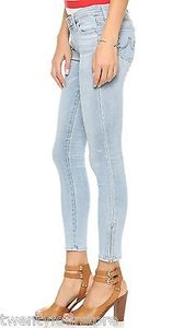 AG Adriano Goldschmied Zipper Ankle Year Wanderer Jeggings