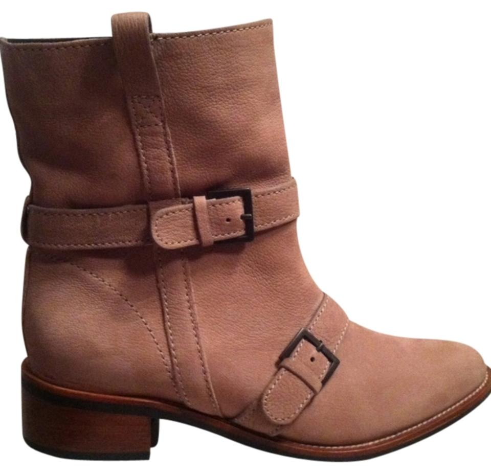 Cole Haan Tan/Nude Buckle D38614 Alix Almond Buckle Tan/Nude Ankle Boots/Booties 2887e3