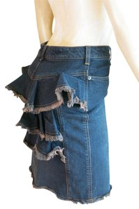 Anna Sui Skirt dark denim