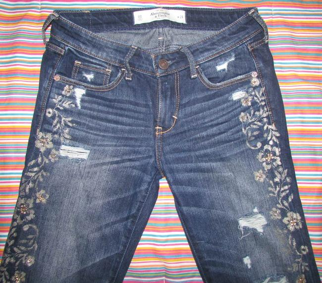 Abercrombie & Fitch Limited Edition Skinny Jeans-Medium Wash Image 3
