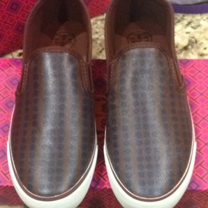 Tory Burch navy brown Athletic