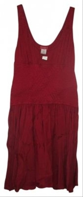 Ghost Red Mid-length Night Out Dress Size 8 (M) Ghost Red Mid-length Night Out Dress Size 8 (M) Image 1