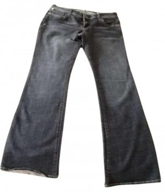 !iT Jeans Flare Leg Jeans-Medium Wash