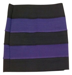 Forever 21 Mini Skirt Purple / black
