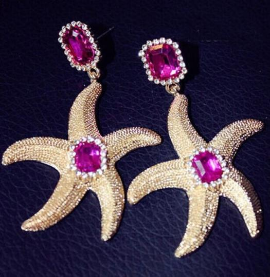 Other Large starfish earrings