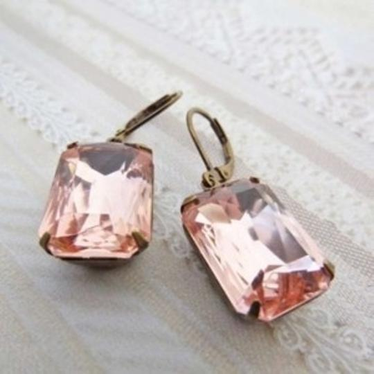 Blush Pink Pale Earrings