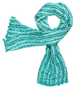 Tory Burch Tory Burch Painted Links Scarf nwt
