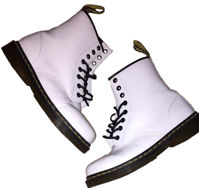 Item - White 1460w Boots/Booties Size US 8 Regular (M, B)